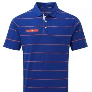NWT Nike Dry Golf Player Stripe Polo Men's XL